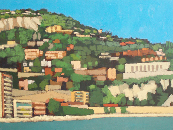 Painting of Villefranche sur Mer