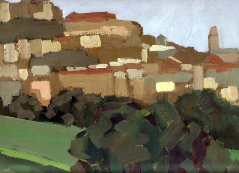 Painting of Caltagirone