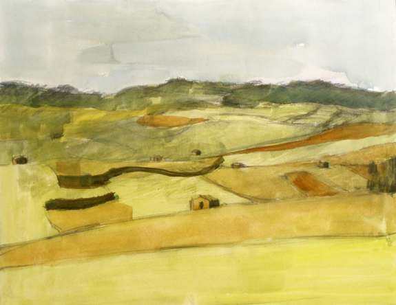 Fields near Caltagirone